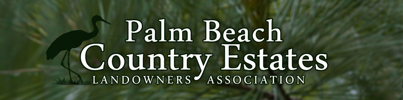 Palm Beach Country Estates Landowners Association